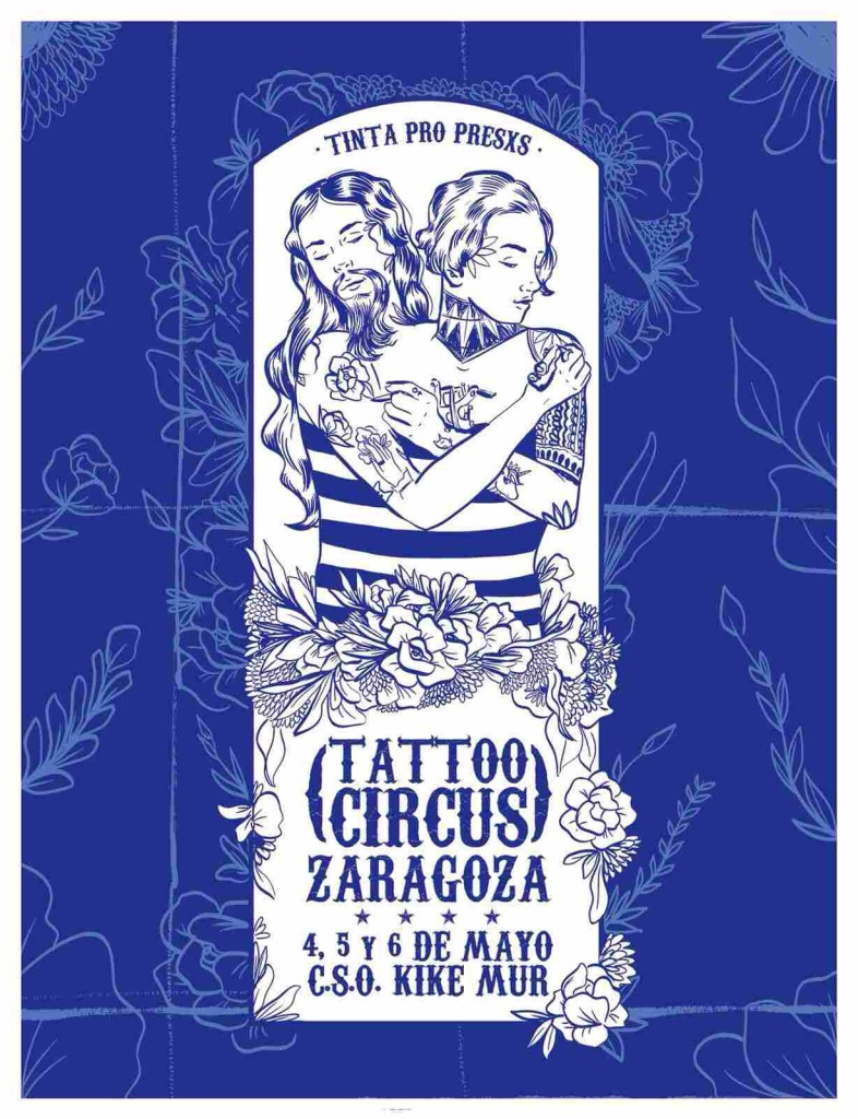 cartel tattoo circus zaragoza 2018